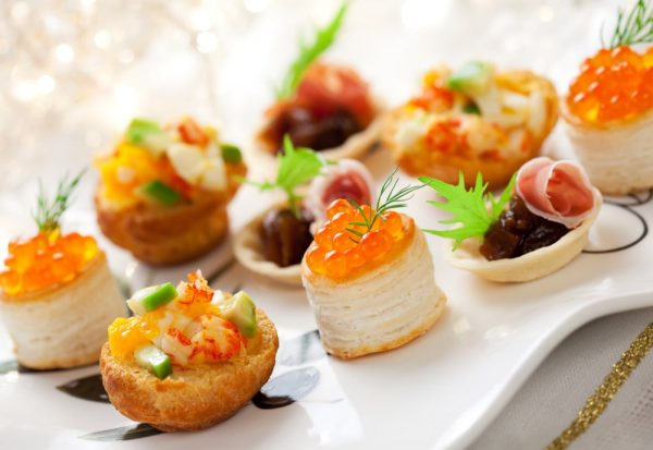 Paring Notes - canape on catering