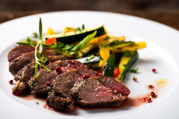Pairing Notes - roasted steaks with vegetable